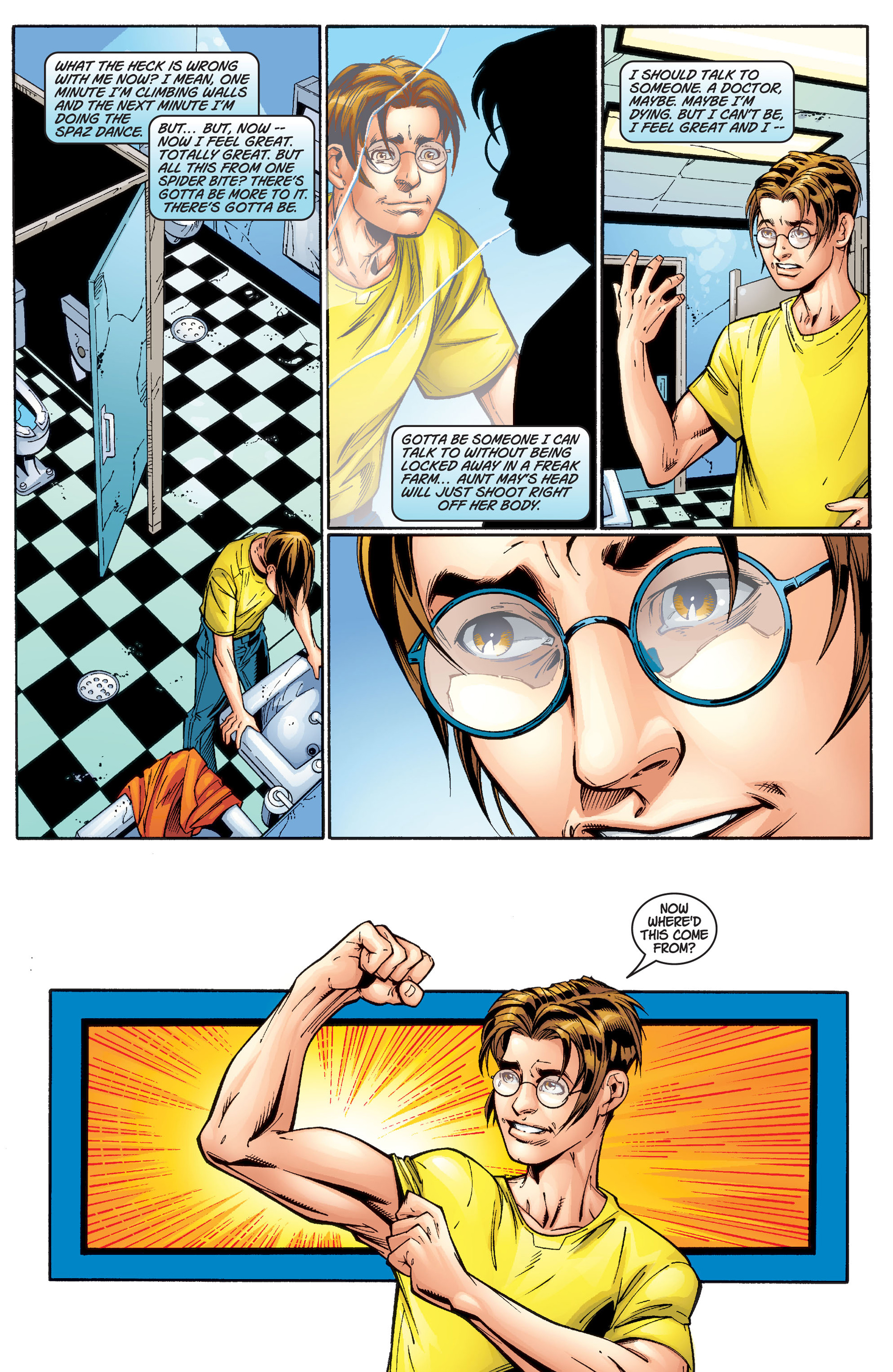 Read online Ultimate Spider-Man (2000) comic -  Issue #2 - 5