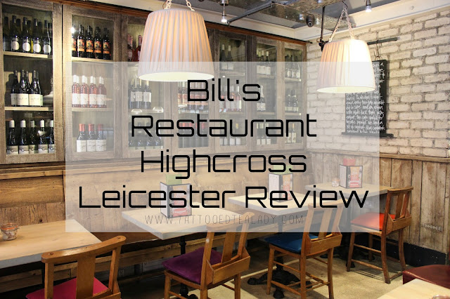 Bill's Restaurant Highcross Leicester Review