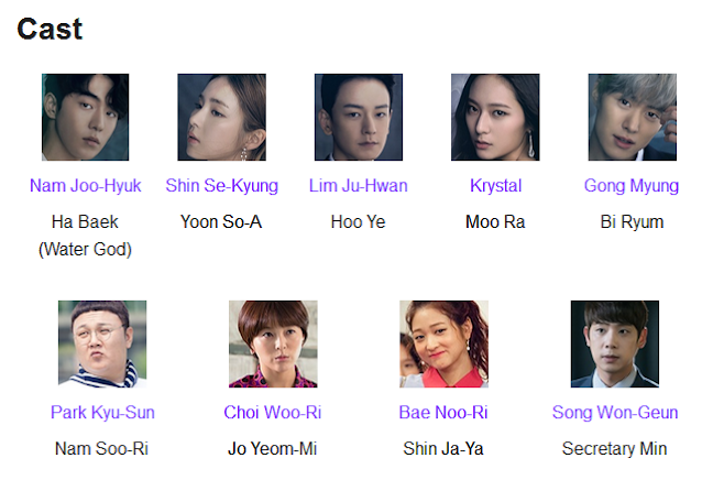 The Bride of Habaek K-Drama Cast