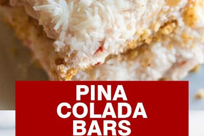 PINA COLADA BARS