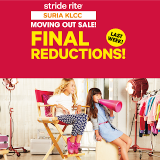 Stride Rite KLCC Malaysia Moving Out Sale