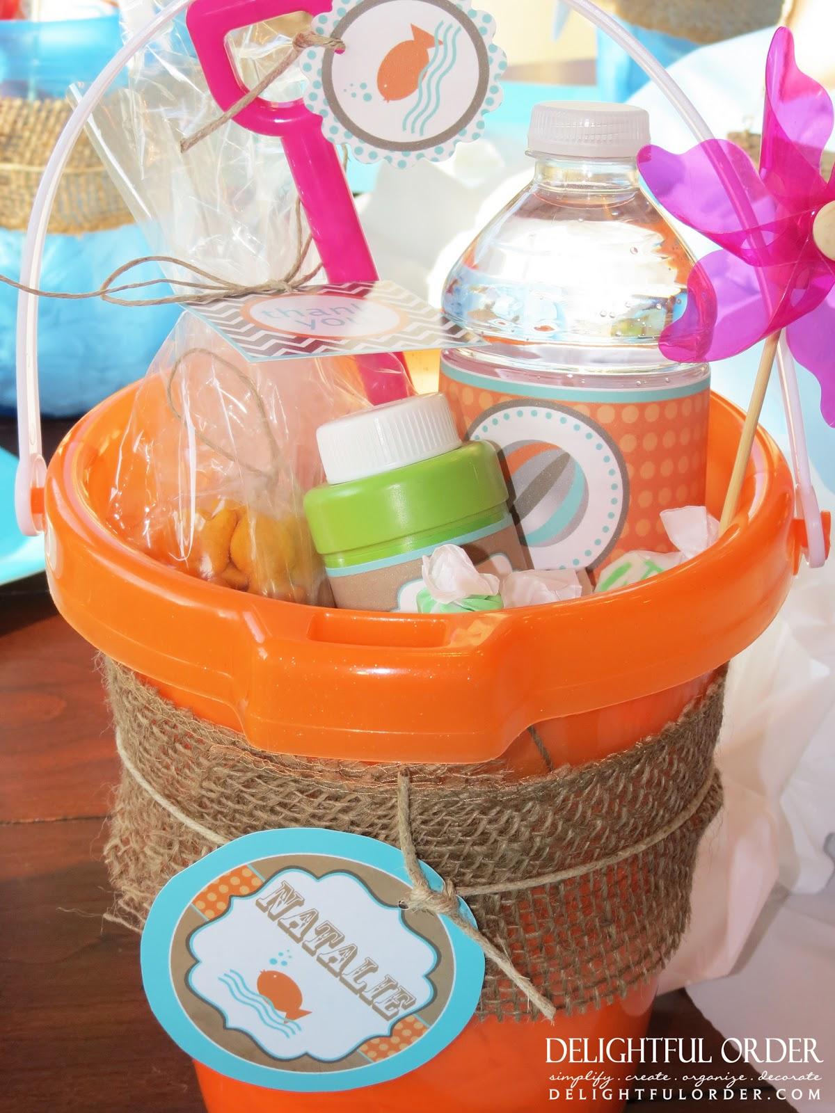 Delightful Order Splish Splash Birthday Party Ideas