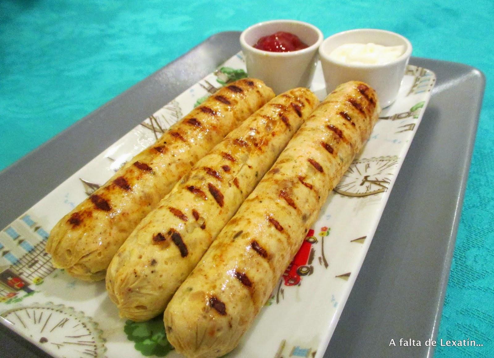 ¿Te animas a hacer tus propias salchichas caseras de pollo y manzana? ¡Toma nota de la receta!