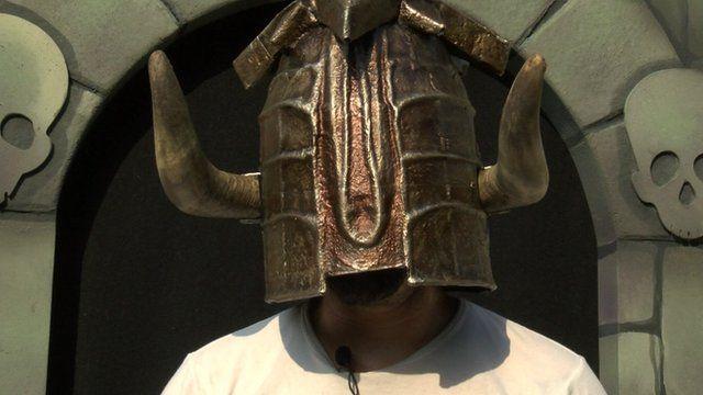 Knightmare helmet of justice