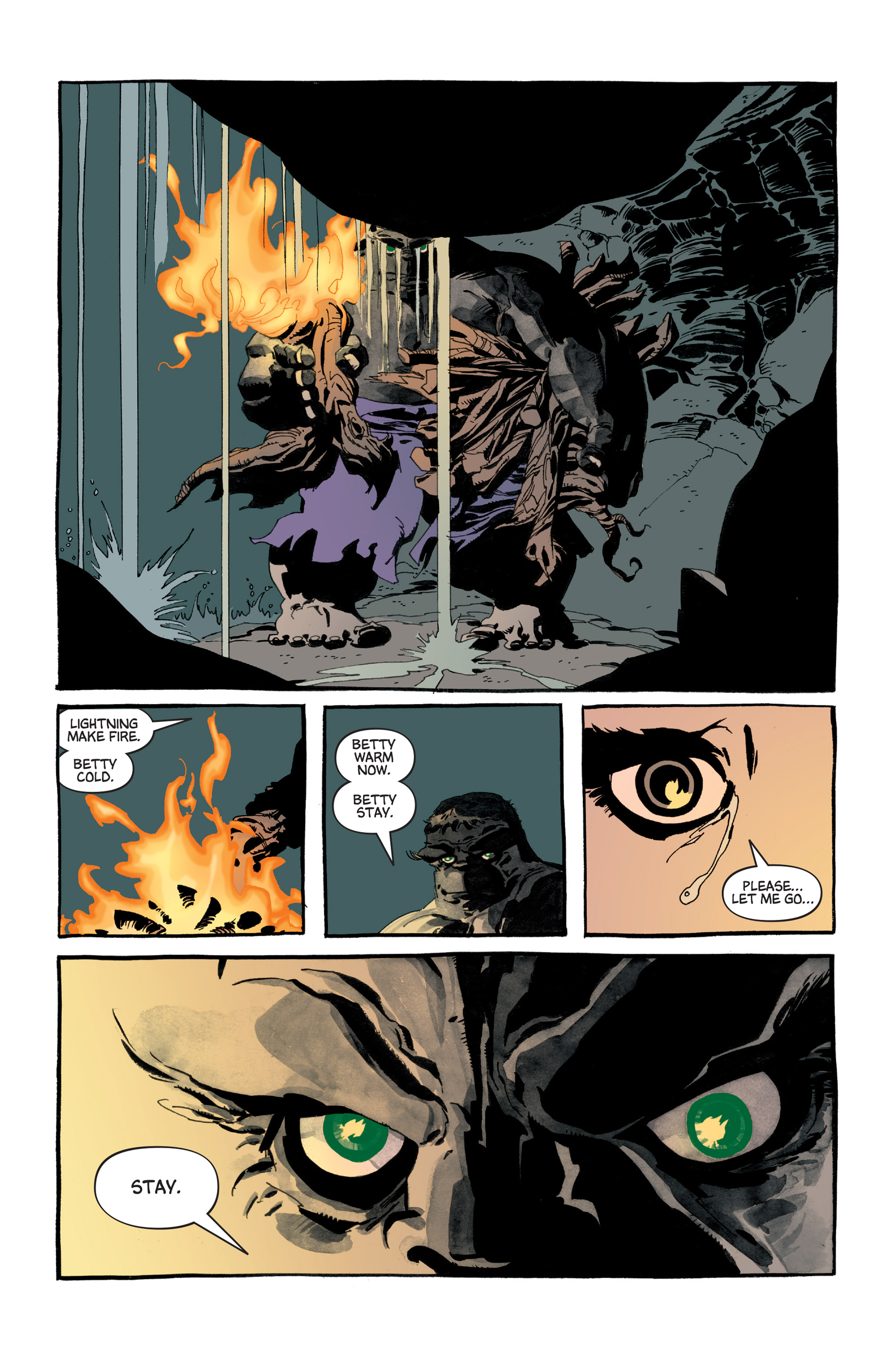 Read online Hulk: Gray comic -  Issue #5 - 16