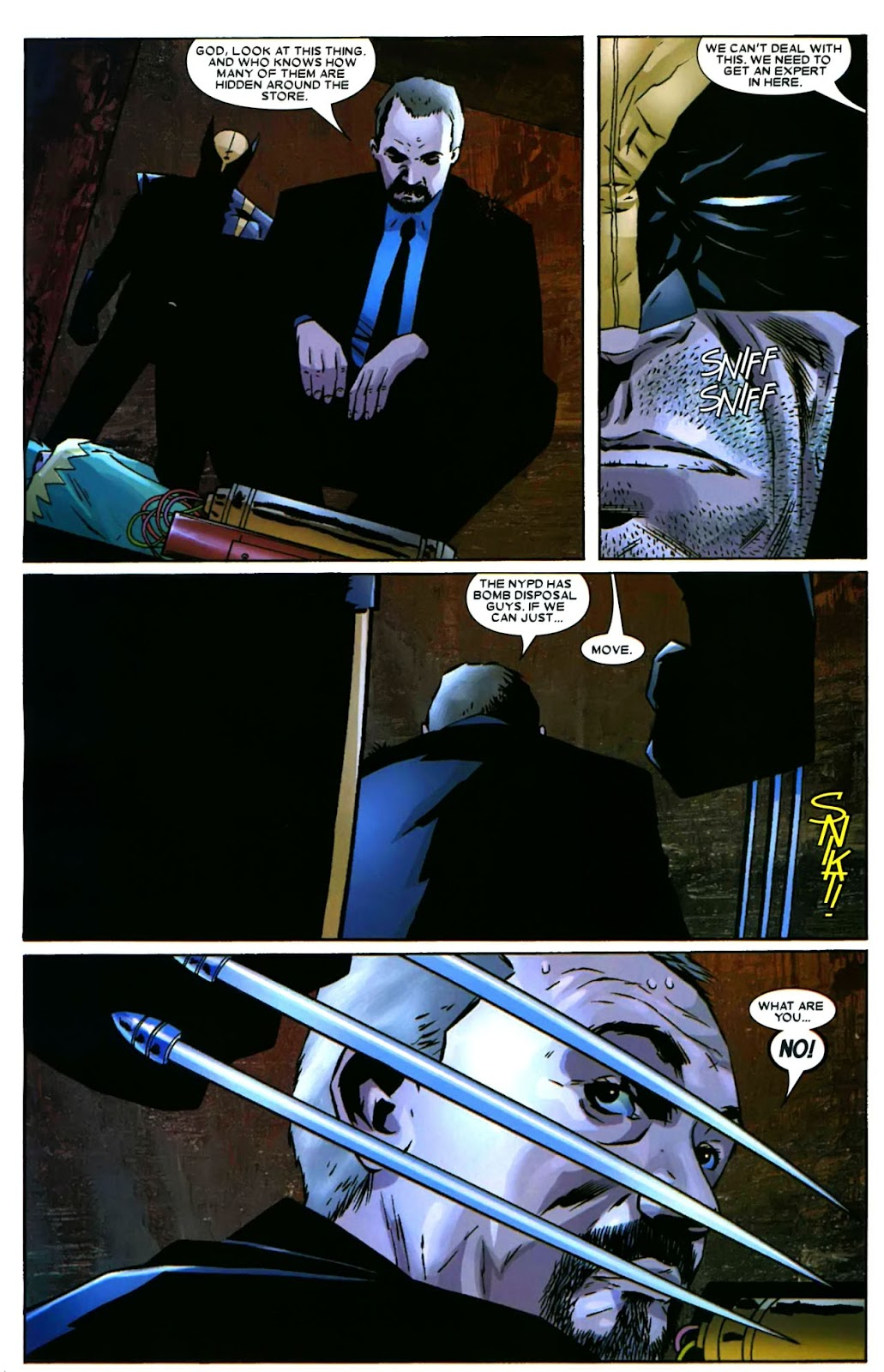 Read online Wolverine (2003) comic -  Issue #49 - 19
