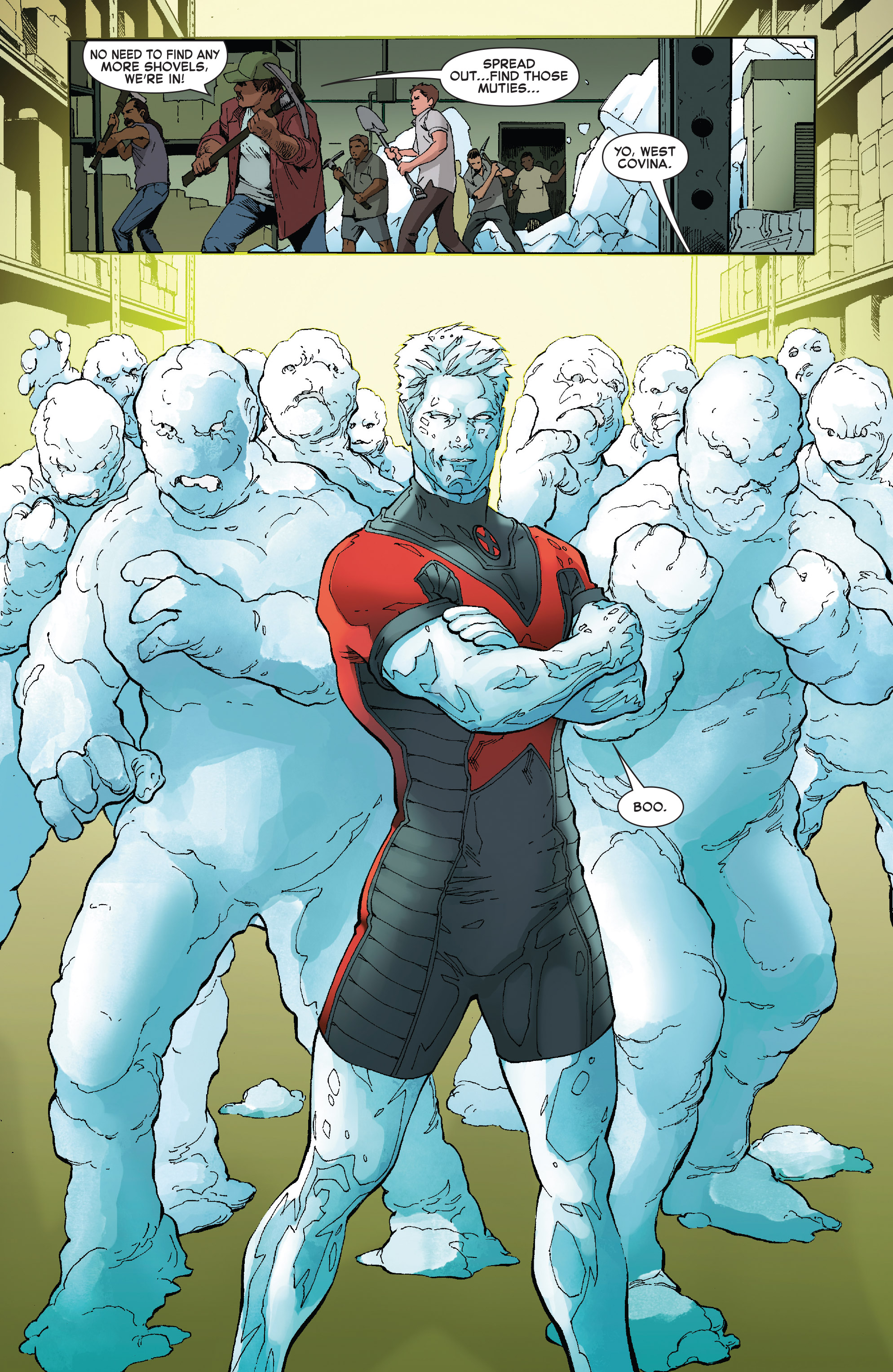 Read online Iceman (2017) comic -  Issue #2 - 18