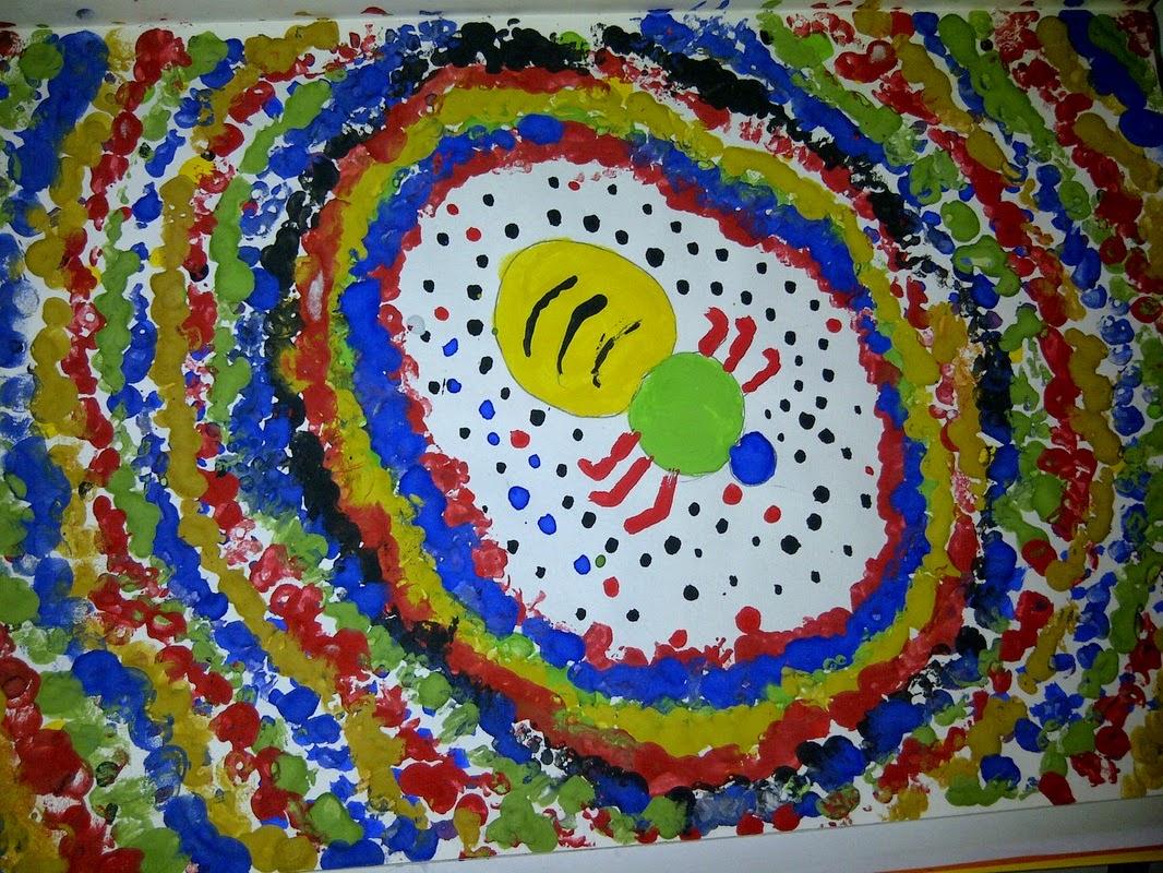Hermione S Knapsack Kids Cafe Art Lecture Australian Aboriginal Art