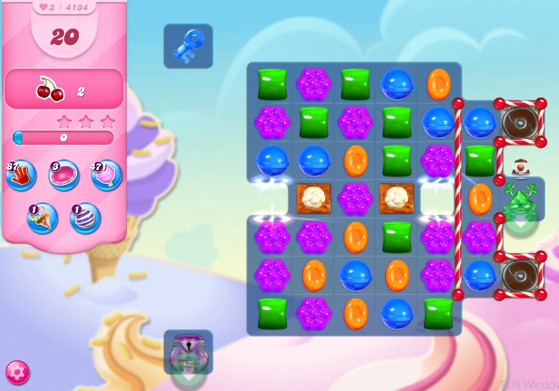 Candy Crush Saga level 4134