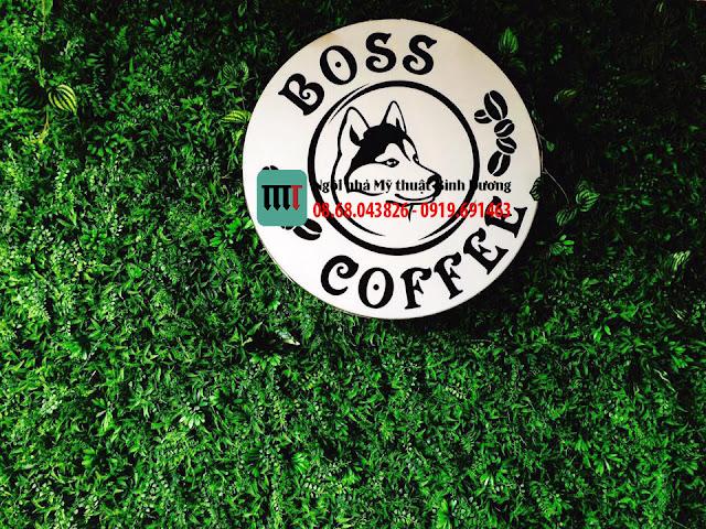 Trang tri quan cafe bang co nhan tao cao cap