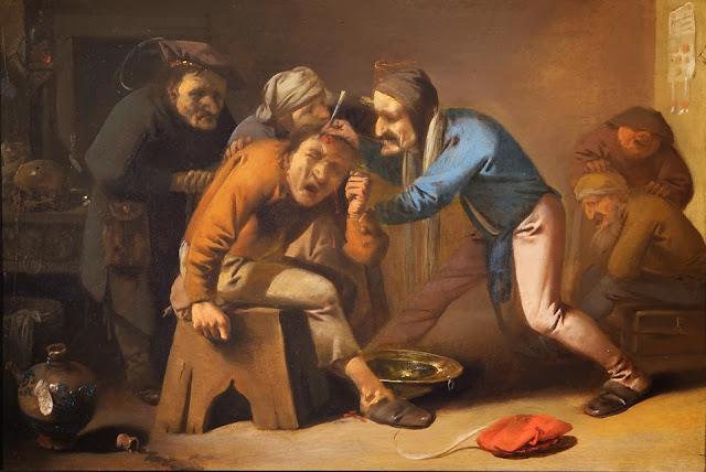 Extracción de la piedra de la locura, Pieter Jansz Quast