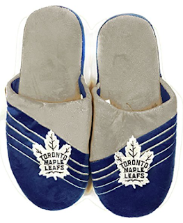toronto maple leaf slippers