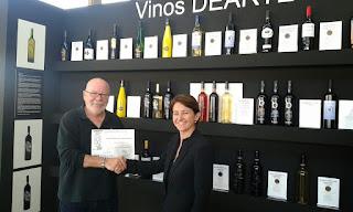 Carmen Garcia Gallardo Premios Diseño Clap and Wine Vino de Arte