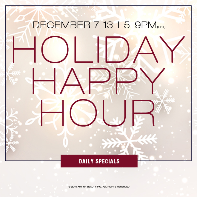 Never Enough Nails: Zoya Holiday Happy Hour Deals!