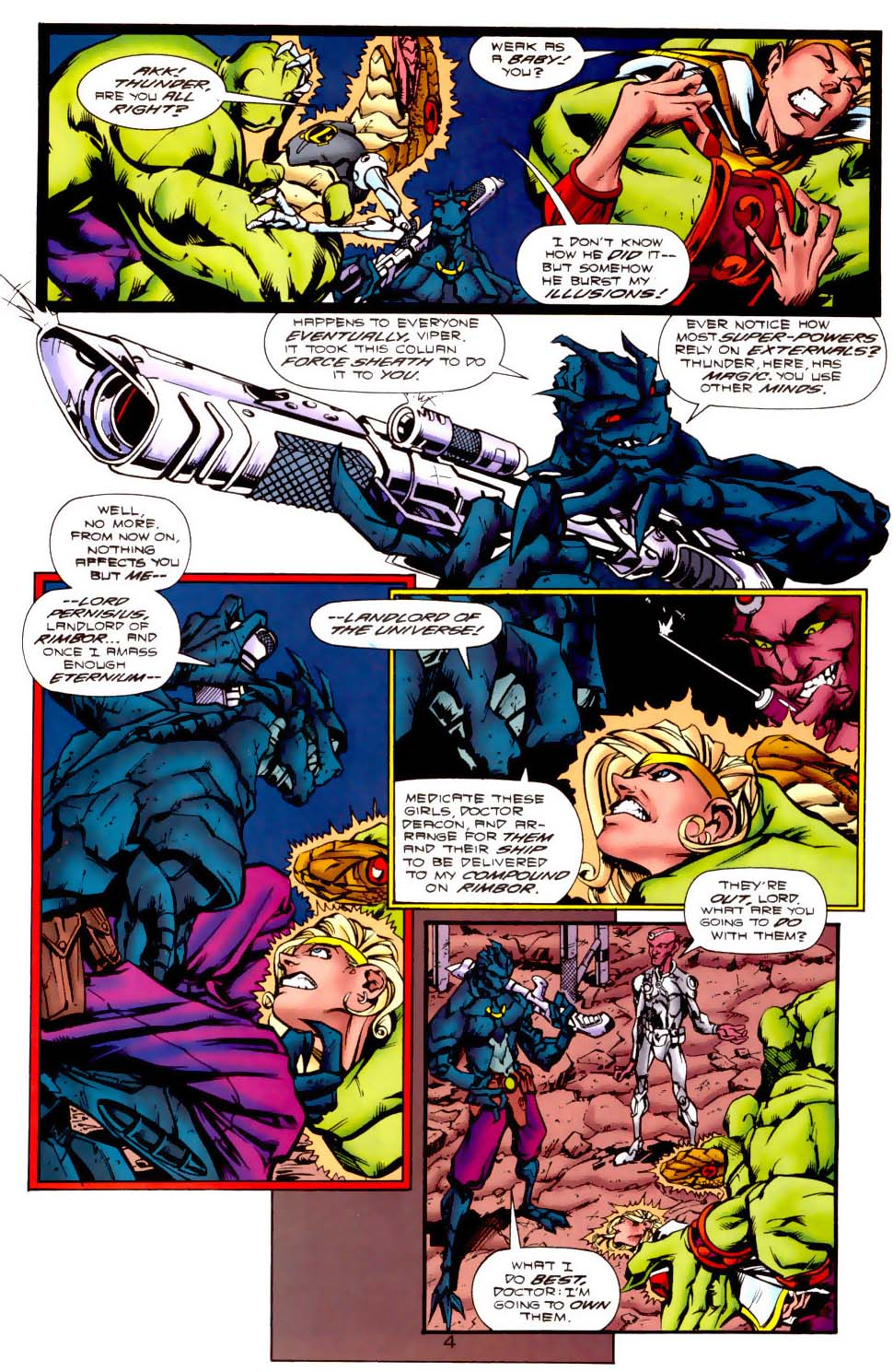 Legion of Super-Heroes (1989) 116 Page 4