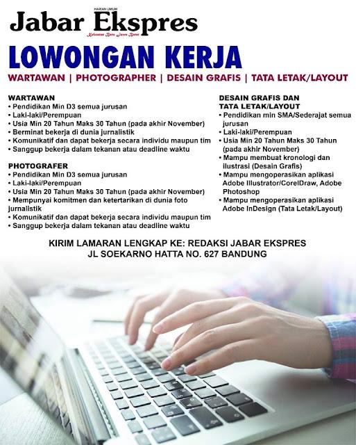 Lowongan Kerja Jabar Ekspres (Bandung)