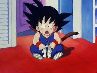Goku sorprendido