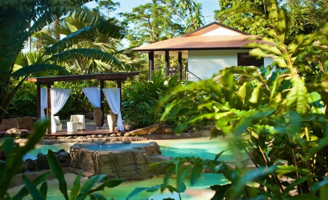 Khu Spa đẳng cấp tại dự án biệt thự Sun Group resort