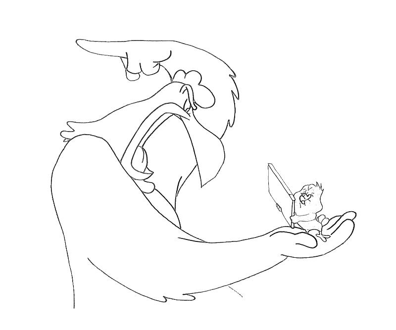 foghorn coloring pages - photo#25