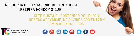 Controla tus emociones: #TuCambioEsAhora