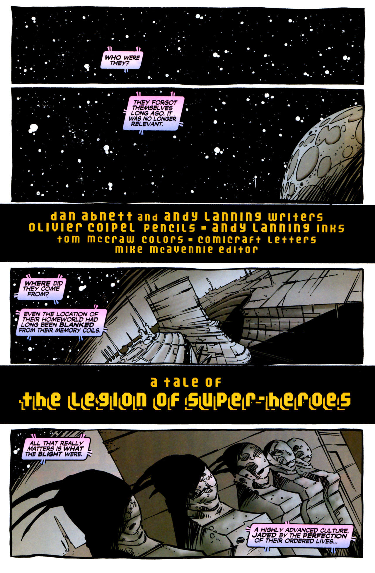 Legion of Super-Heroes (1989) 123 Page 1