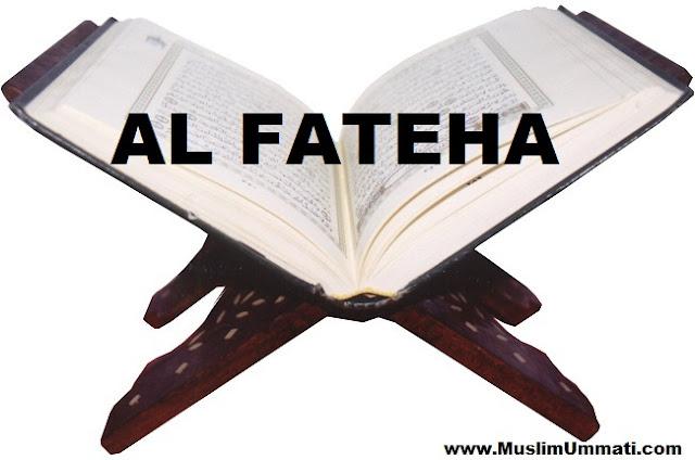 1 Surah Al Fatihah