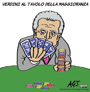 verdini, maggioranza, governo, legislatura, vignetta, satira