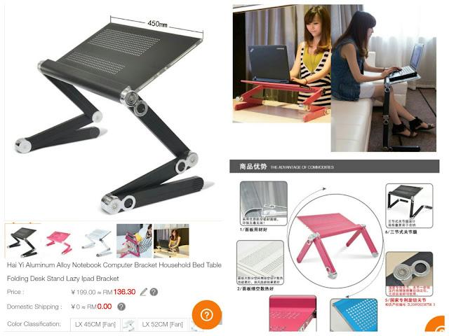 Laptop Table fordable sgshop