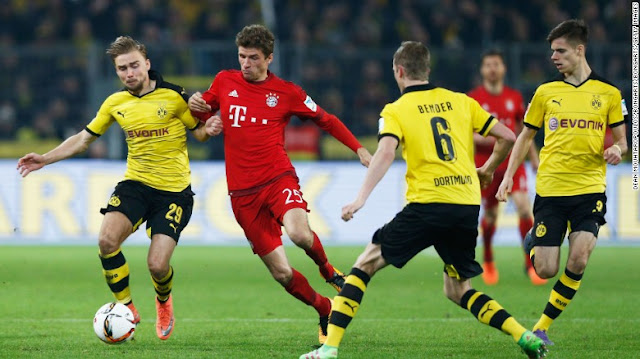 Prediksi Bayern Munchen vs Borussia Dortmund Liga Jerman