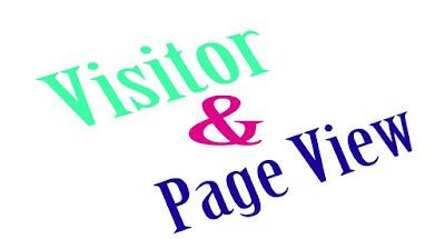 Perbedaan Visitor dan Page View Pada Blog dan Pengertiannya