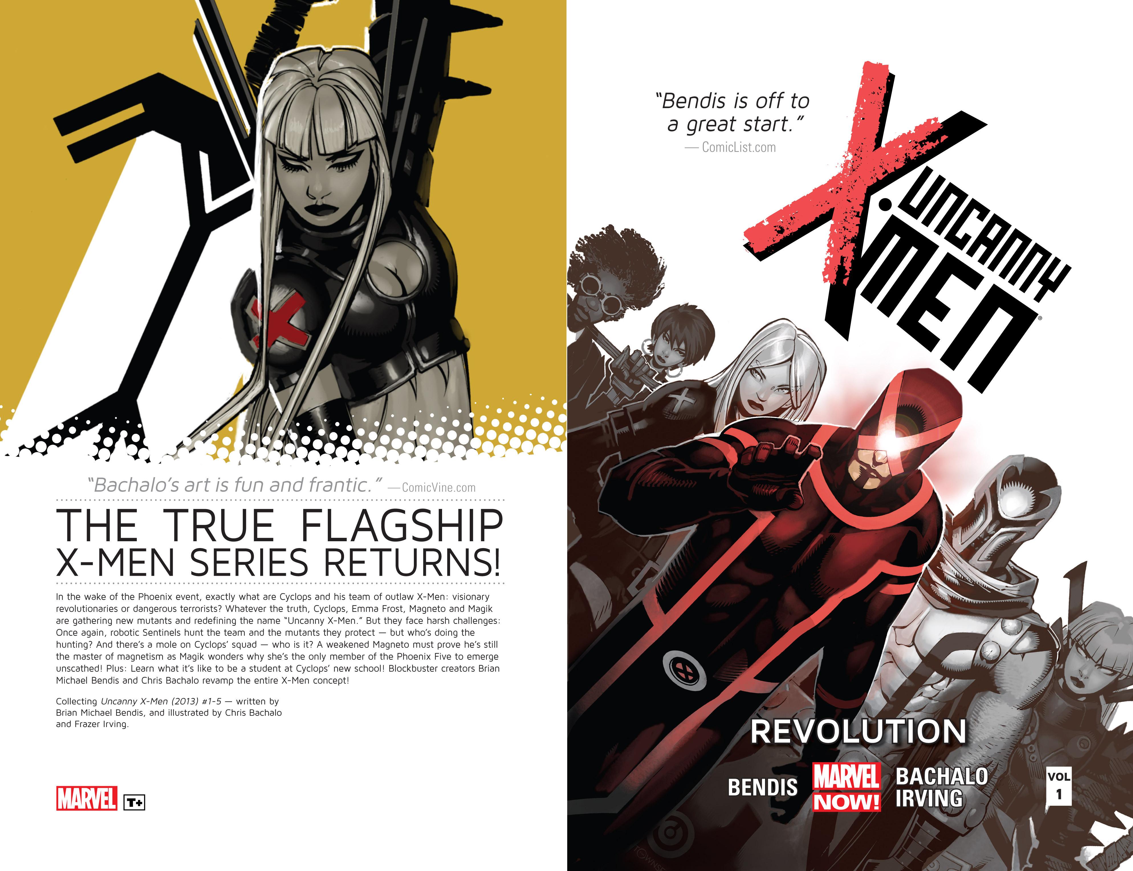 Read online Uncanny X-Men (2013) comic -  Issue # _TPB 1 - Revolution - 2