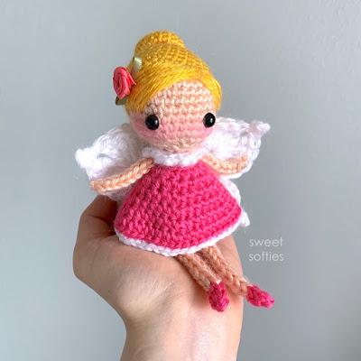Ravelry: Standard Size Weebee Doll - Flower Fairy Mod Kit pattern ... | 400x400
