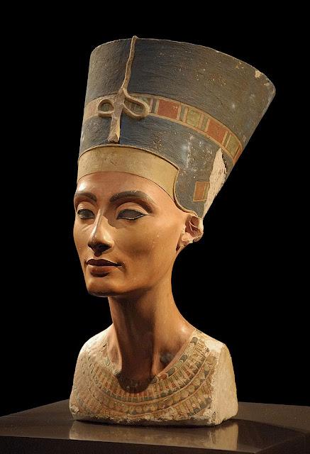Busto de Nefertiti, Neues Museum, Berlim