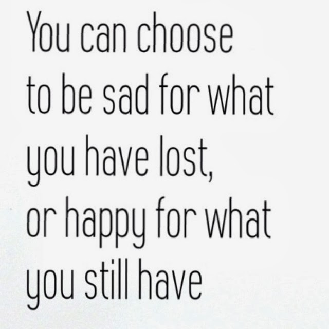 Happiness Either Choose To Be Sad Wwwpicsbudcom