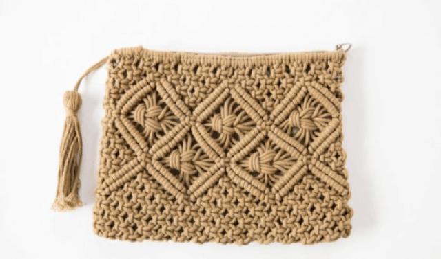 cara membuat tas dari tali kur