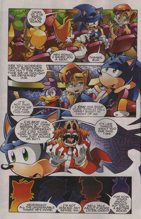 Read online Sonic The Hedgehog comic -  Issue #201 - 3
