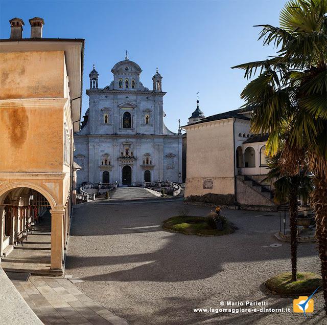 Sacro Monte di varallo Sesia  con la basilica
