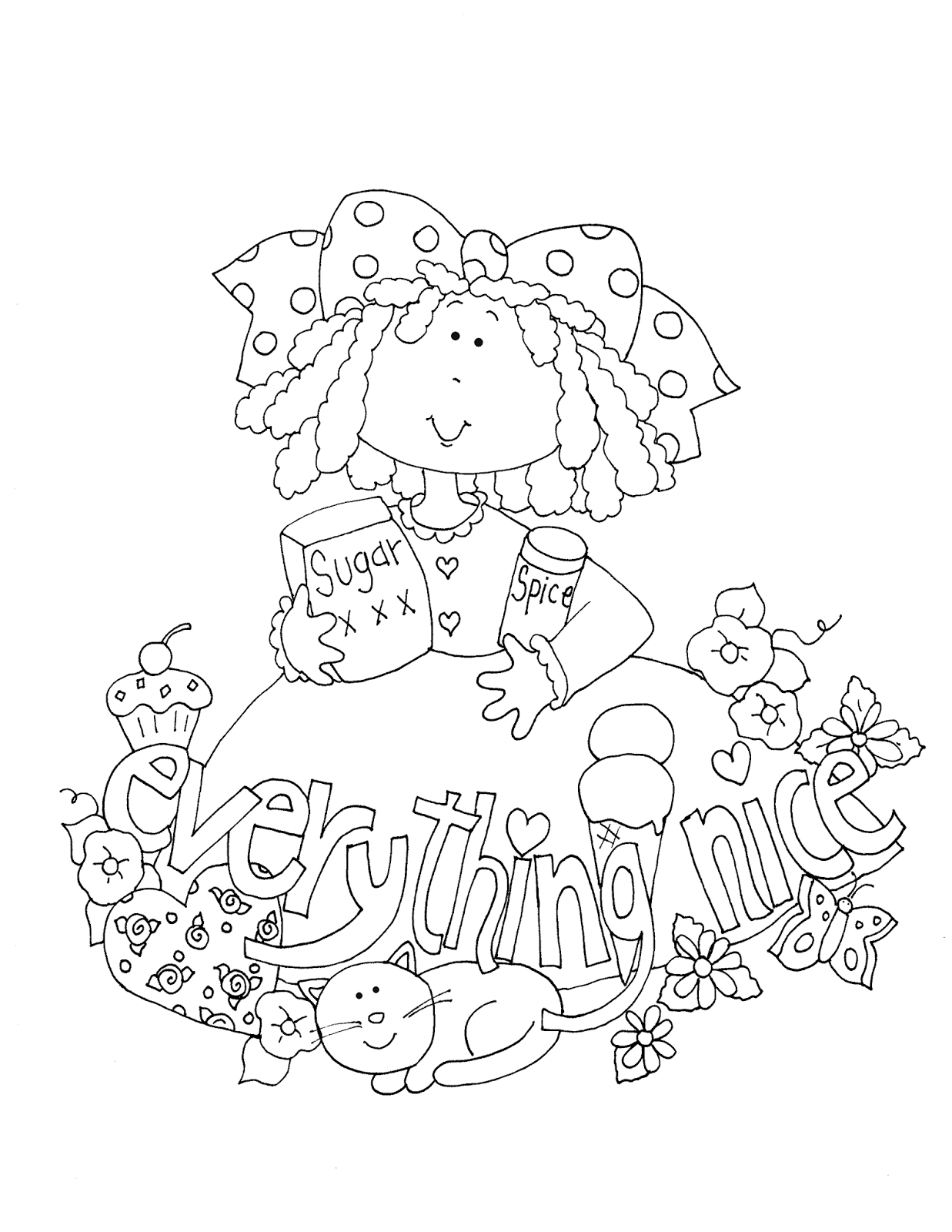 Free Dearie Dolls Digi Stamps: As requested....Sugar and