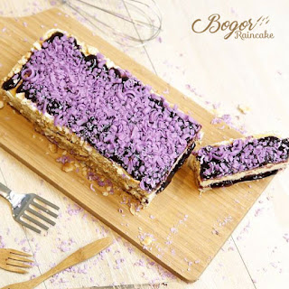 Cheese Blueberry Bogor Raincake, Sepotong Kisah dari Kota Hujan Penuh Keberkahan