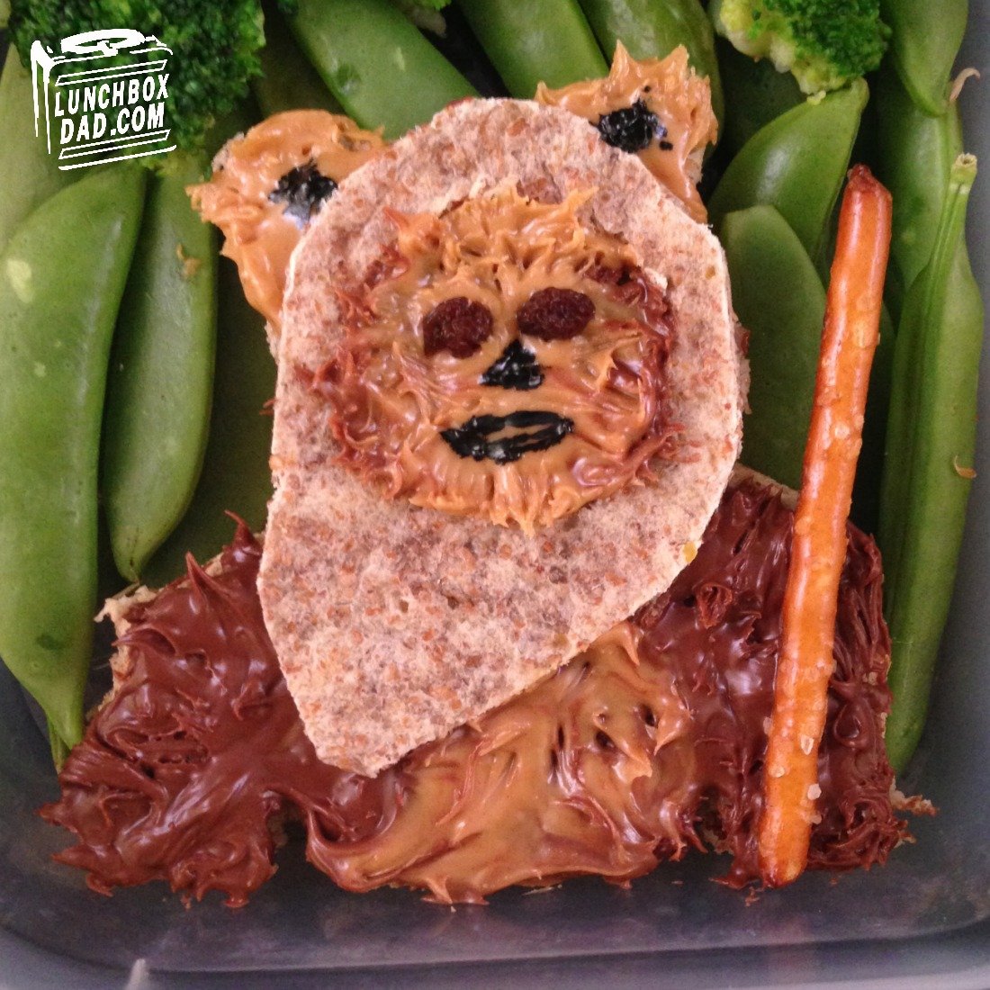 Star Wars Return of the Jedi Ewok Lunch for NAtional Star Wars Day