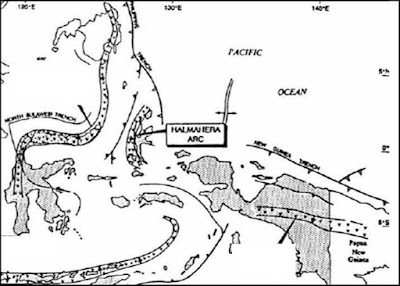 Lokasi Busur Halmahera