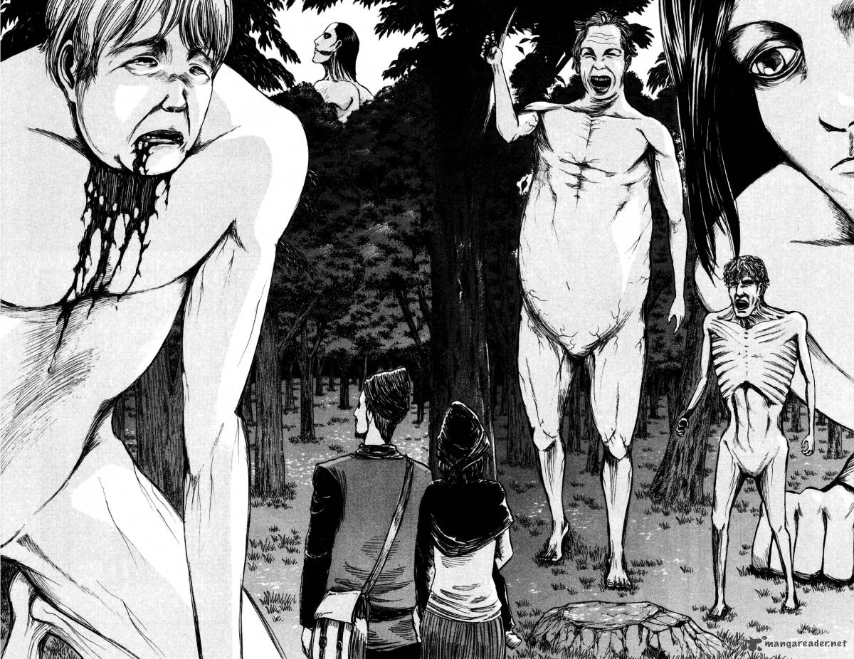 Shingeki no Kyojin Ch10: What Happened To The Left arm