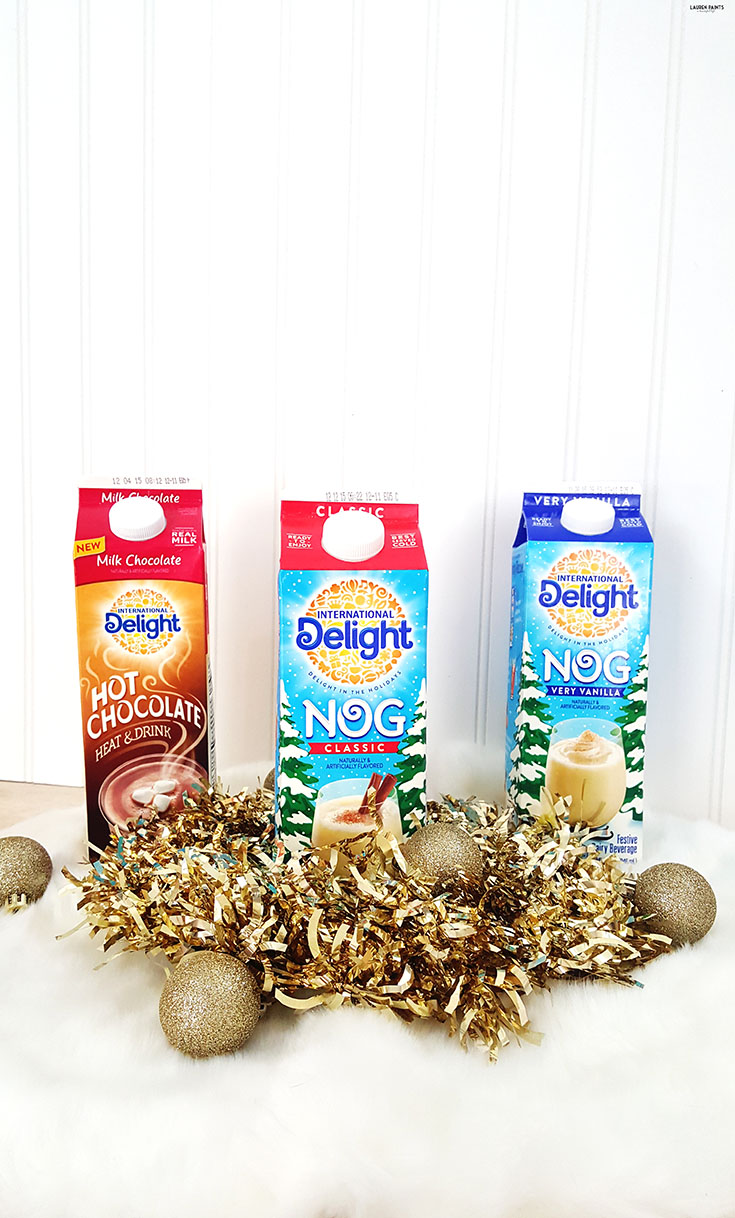 The Perfect Holiday Treat: Chocolate Ice Cream Cone Cups wtih Egg Nog & Hot Chocolate! #ShareYourDelight