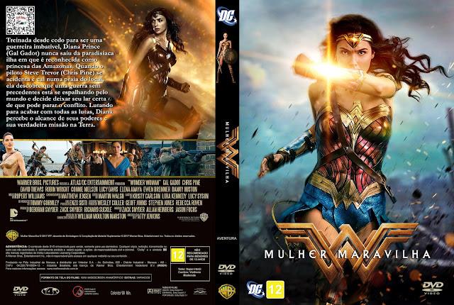 Capa DVD Mulher Maravilha [Exclusiva]