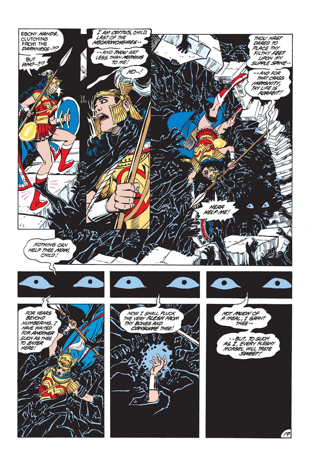 Read online Wonder Woman (1987) comic -  Issue #10 - 21