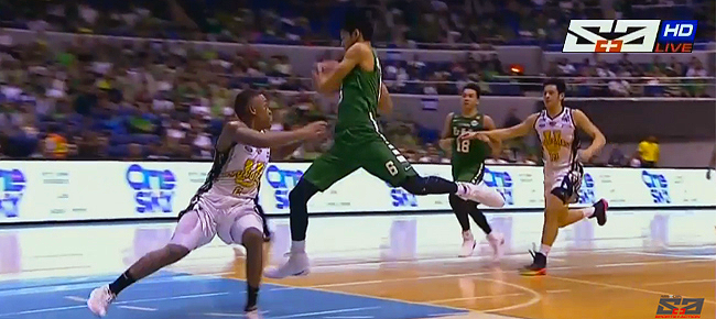 Ricci Rivero's NASTY Move Against UST  (VIDEO) UAAP Season 79