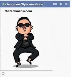facebook chat emotions Gangnam style: