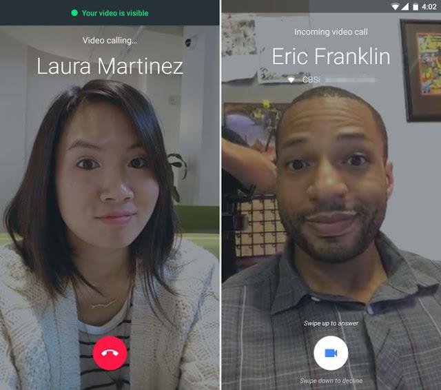cara menerima panggilan google duo