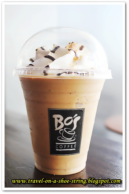 BO'S COFFEE: Amaretto Biscotti Beverage