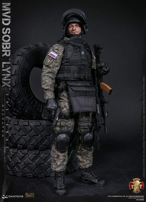 DAMTOYS RUSSIAN SPETSNAZ MVD SOBR LYNX 11